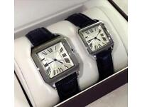 Cartier/Rolex watches black/silver/gold/brown/rose