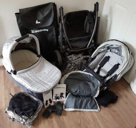 UppaBaby VISTA 2012 system + rumble seat
