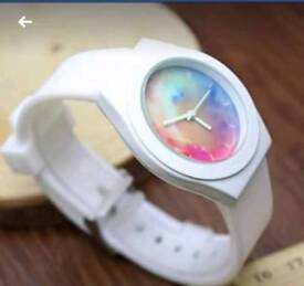 Brand ladies watches with rubber straps