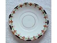 A Pair of Blyth Porcelain Co. Ltd - Diamond China Cake / Sandwich Plates