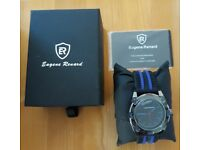 EUGENE RENARD MENS WATCH MODEL X NEW & BOXED - Needs a battery