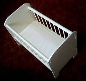 Doll's Wooden Cot