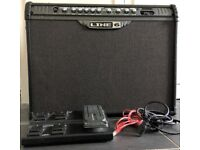 GUITAR AMP: Line 6 Spider III 150 Watt with FBV express foot pedal -all excellent condition .