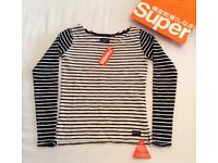 Ladies superdry top bnwt xs