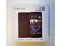 NEW CONDITION HTC ONE M7 VARIOUS COLOURS in a Box with all the Accessories SIM FREE UNLOCKED