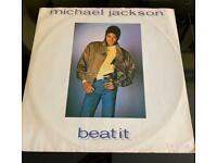 Michael Jackson Beat it 12 inch