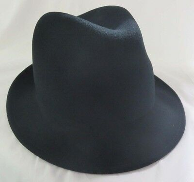 Boys Black Narrow Brim Zoot Trilby Hat Fedora Formal Costume Dress Up Kids Cap](Boys Black Fedora)