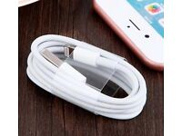 £10 FOR PACK OF 3 X APPLE CHARGER/USB CABLES