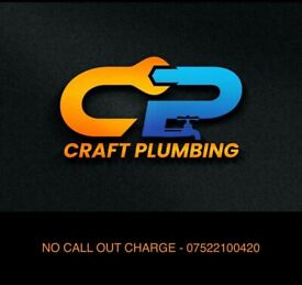 CRAFT PLAMBING - 24/7 - NO CALL OUT FEE/HOURLY RATES