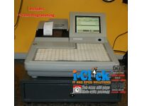 Refurbished Till System Uniwell SX8500 SX-7000 Chip Shop Fast Food Hospitality Pub Bar Cash Register