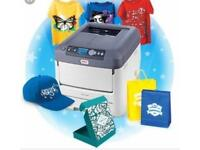 OKI c711wt white decoration printer