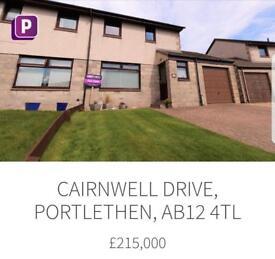 Aberdeen (Portlethen) 3 Bed Semi Detached £215000