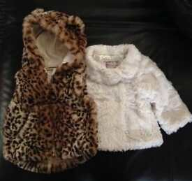 Body warmer and coat 6-9 months