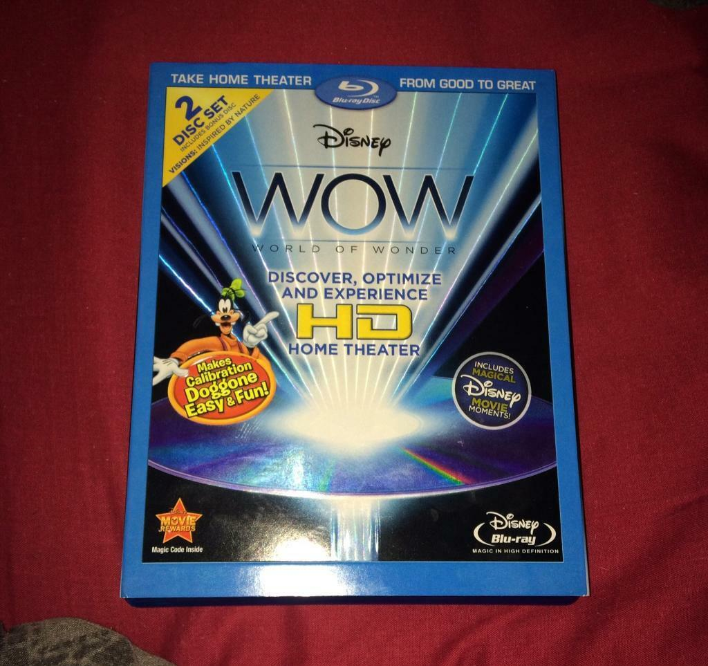 WOW Disney 2 disc calibration blurayin Gartcosh, GlasgowGumtree - WOW Disney 2 disc calibration bluray . Collection only no offers