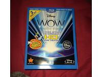 WOW Disney 2 disc calibration bluray