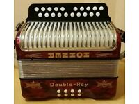Hohner button accordion. 2row