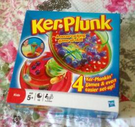 Ker Plunk 2011 Hasbro. A Nerve Racking Game of Skill. Very Good Condition.