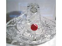 webb continental lead crystal bowl
