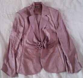 Gina Bacconi Ladies Mink 3 Piece Skirt Suit Size 18