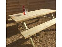 Quality Beer Garden Tables x 10
