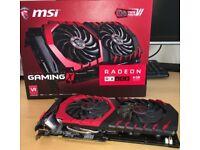 MSI RADEON RX 480 8GB GAMING X Video Card W/BOX, VR & HRD ready