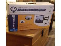Brand new tv wall mount still in box