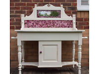 Victorian washstand with marble top