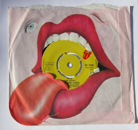 """THE ROLLING STONES ANGIE c/w SILVER TRAIN 7"""" SINGLE"""