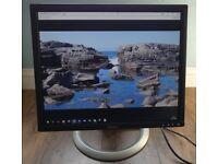 Dell 19 inch 1905FP Ultrasharp LCD Monitor - Black / Silver