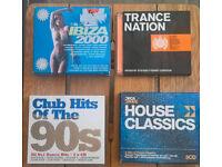 Trance/Techno CD sets (20)