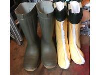 Skeetex thermal boots