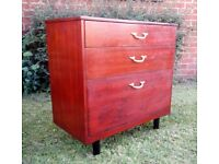 RETRO Style Wood Chest of Drawers