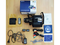 SONY HD Camcorder Bundle [Incl. Sony Tripod & ClipMic, Lighting Set, FREE Earphone & Camcorder Bag]