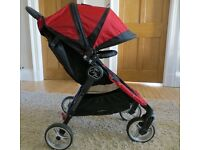 Baby Jogger City Mini Buggy with Belly Bar. Fabulous Condition £140