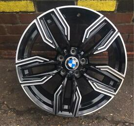 4x SET BMW ALLOYS 19 INCH FOR 5 SERIES 3 SERIES MSPORT STYLE e90 325 235 118 STAGGERED