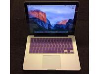 "13"" MacBook Pro, 2.4GHz, Adobe cs6, Final Cut Pro, Logic Pro, autoCAD"
