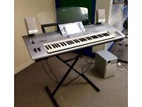 Pre Loved Yamaha Tyros Digital Keyboard, Part Exchange & Finance Welcome