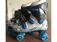 Roller boots and accessories