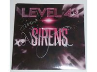 Signed Level 42 Sirens CD