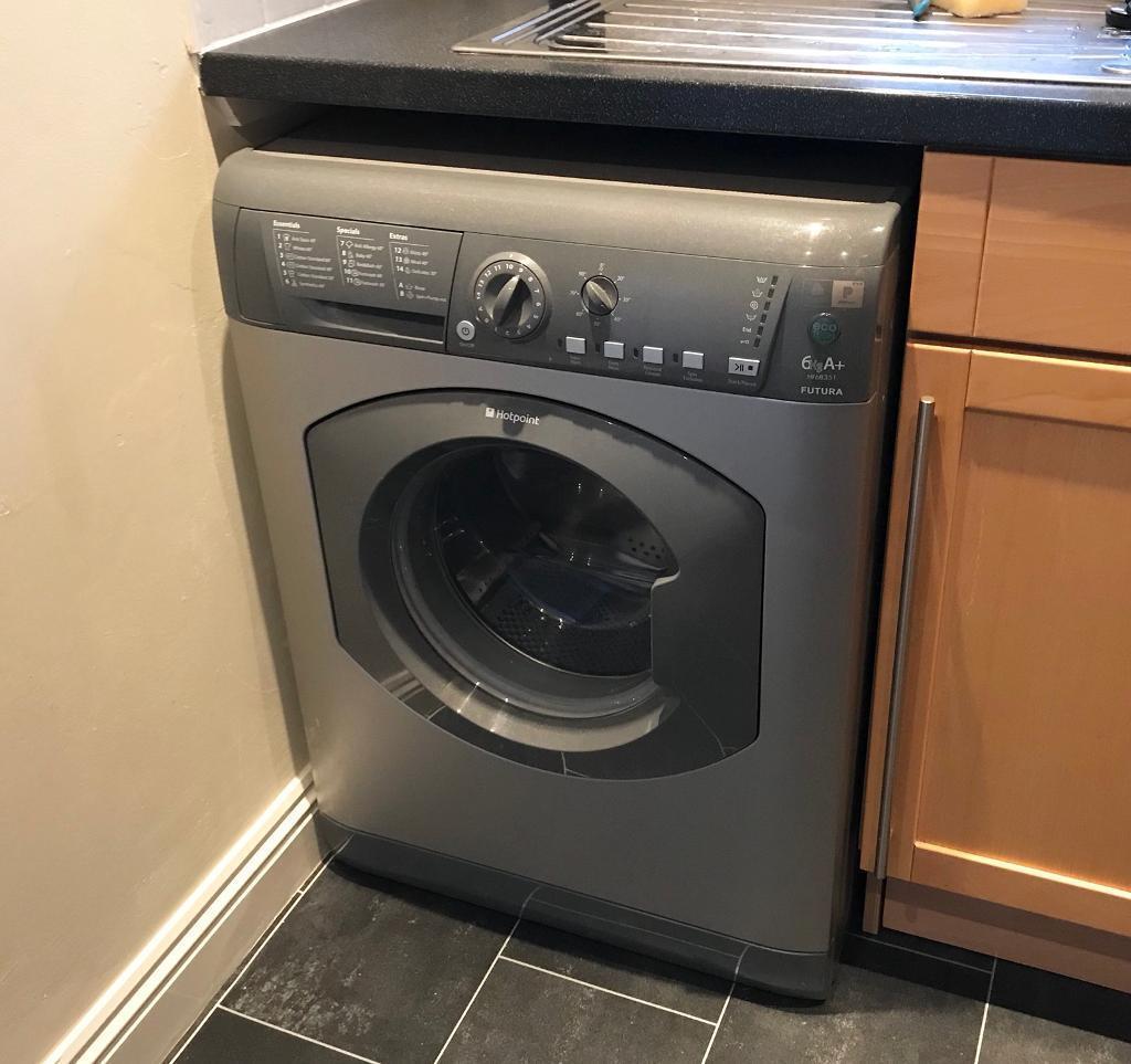 Hotpoint Futura 6kg Washing Machine HF6B351 graphite