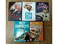 5 BILLY CONNOLLY DVDS