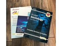 A Level Sociology Textbook + Revision Guides for sale  Westbury On Trym, Bristol