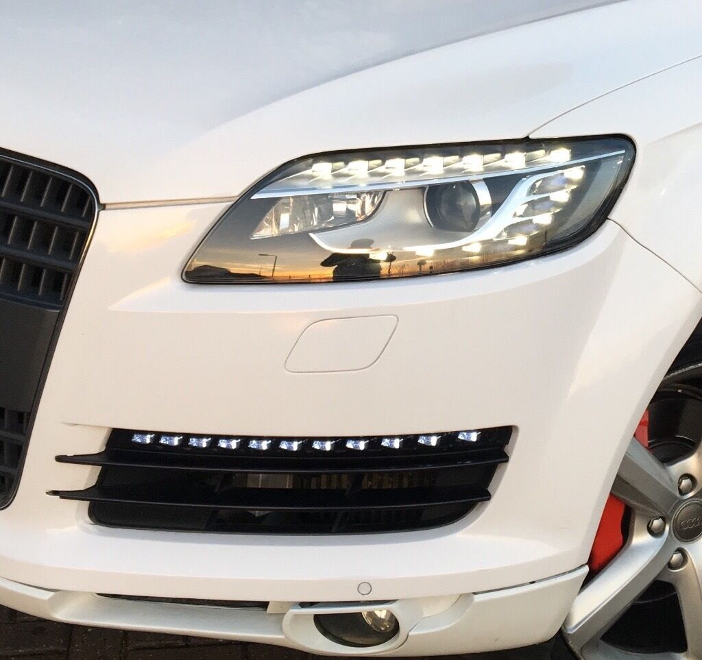 Car colour number plate - Audi Q7 S Line 2006but Updated To 2013 With New Headlight Daylights Colour