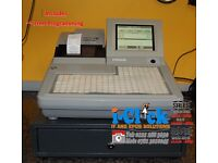 Refurbished Till System Uniwell SX7500 SX-7000 Chip Shop Fast Food Hospitality Pub Bar Cash Register