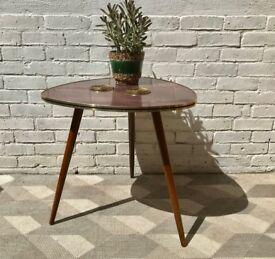 Vintage Retro Coffee Side Table German #755