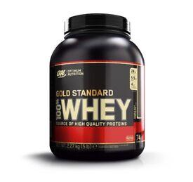 Optimum Nutrition Whey Protein 2.27kg Tubs