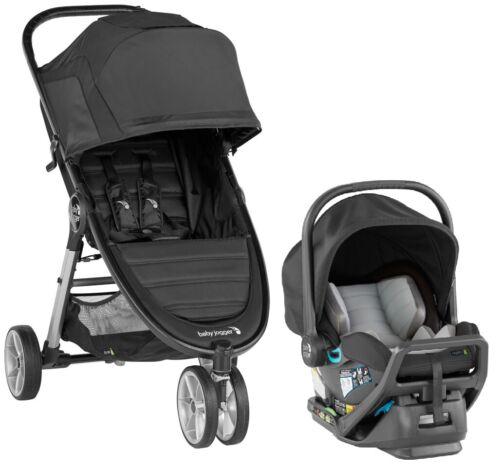 Baby Jogger City Mini 2 Travel System Stroller w/ City Go Infant Car Seat Jet