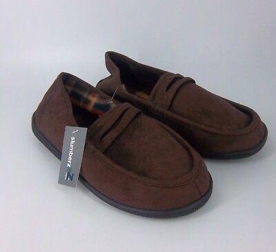 Slumberzzz Men's Fleecy Lined Moccasin Slippers UK 8 EU 42 NH089 UU 03