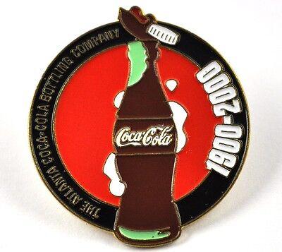 Coca-Cola Coke USA Lapel Pin Button Badge Anstecknadel - Flasche 1900 - 2000