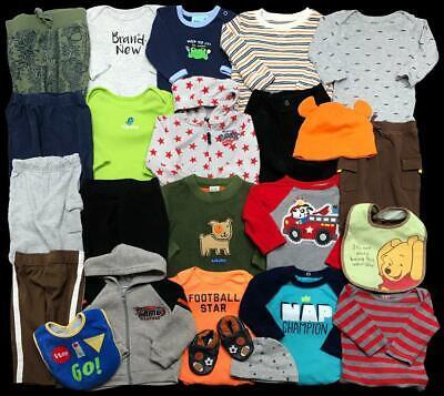 Baby Boy 6 Months 6-9 GAP Carter's Pants Shirts Shoes Oufits Sets Clothes Lot